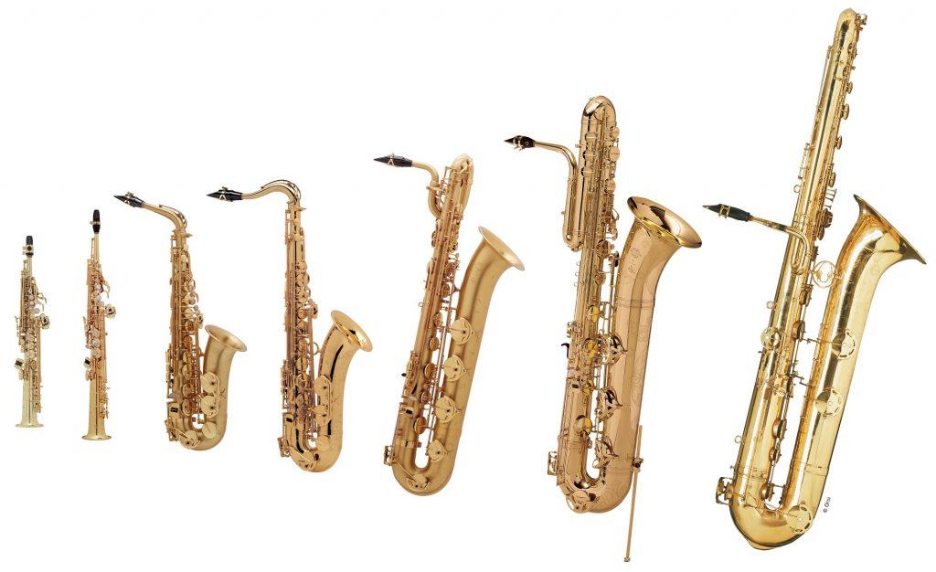 saxofony 1024x626 - Saxofón