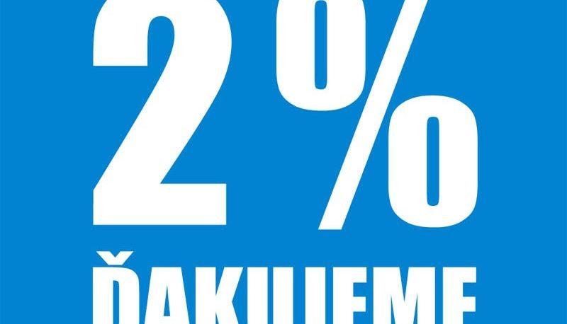Ako mám poukázať 2% (3%) z dane?