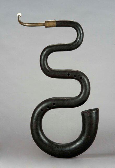 serpent - História dychových nástrojov